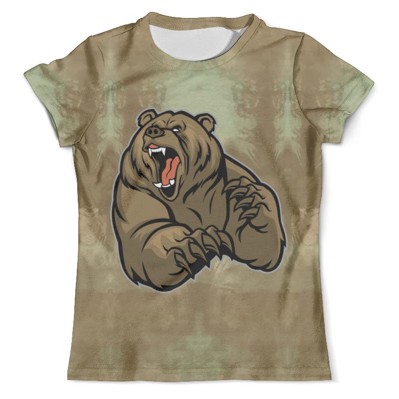 лучшая цена Printio Ревущий медведь