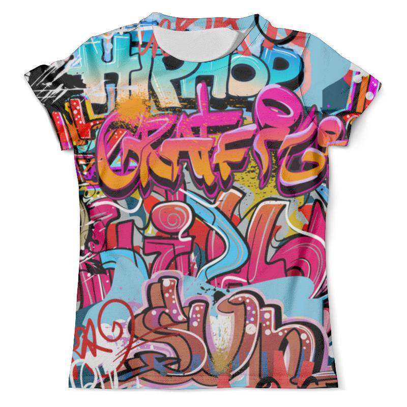Футболка с полной запечаткой (мужская) Printio Граффити футболка с полной запечаткой мужская printio фрактальная эзотерика мандалы