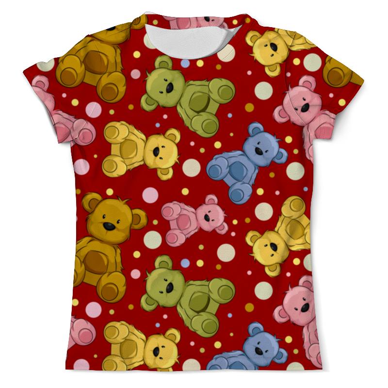 Printio Радужные мишки футболка с полной запечаткой мужская printio радужные полосы