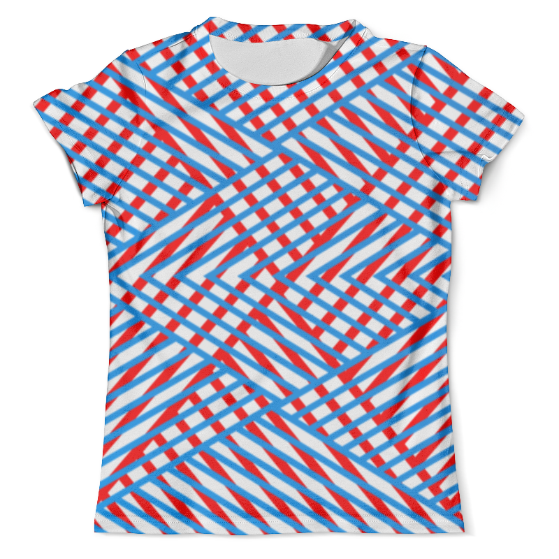 Футболка с полной запечаткой (мужская) Printio Линии футболка с полной запечаткой мужская printio яркие линии