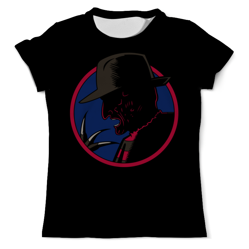 Printio Фредди крюгер футболка с полной запечаткой мужская printio фредди меркури