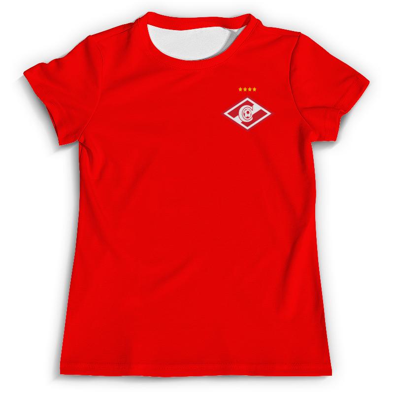 Футболка с полной запечаткой Printio Спартак-москва футболка с полной запечаткой printio москва россия