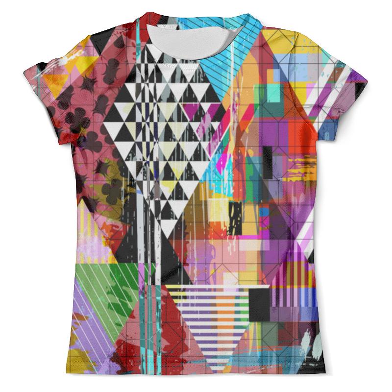 Футболка с полной запечаткой (мужская) Printio Geometry color футболка мужская ling feng color lf6651 lfcolor