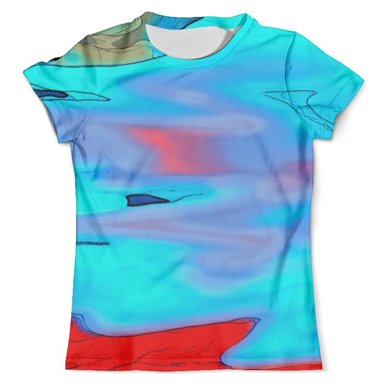 Футболка с полной запечаткой (мужская) Printio Блики на воде футболка с полной запечаткой мужская printio блики