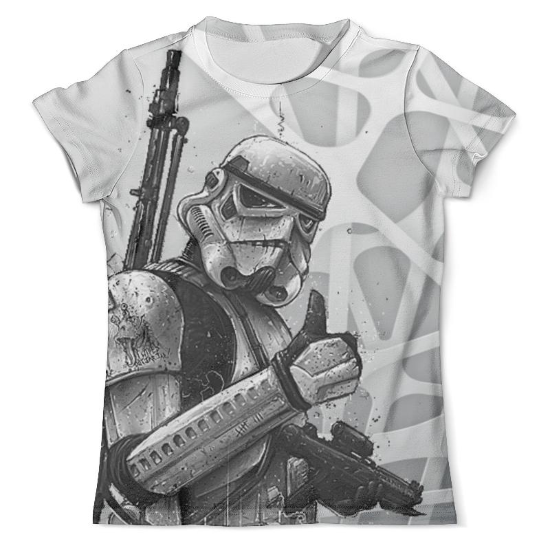 Футболка с полной запечаткой (мужская) Printio Star wars design (stormtrooper) maikii star wars stormtrooper 16gb usb 2 0