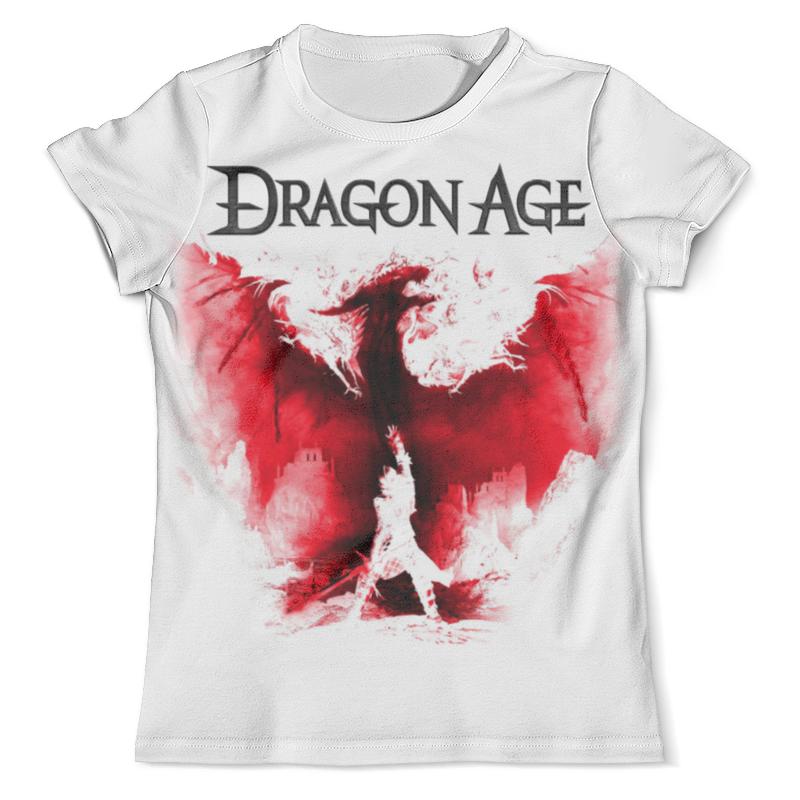 Футболка с полной запечаткой (мужская) Printio Dragon age футболка с полной запечаткой для мальчиков printio dragon age inquisition