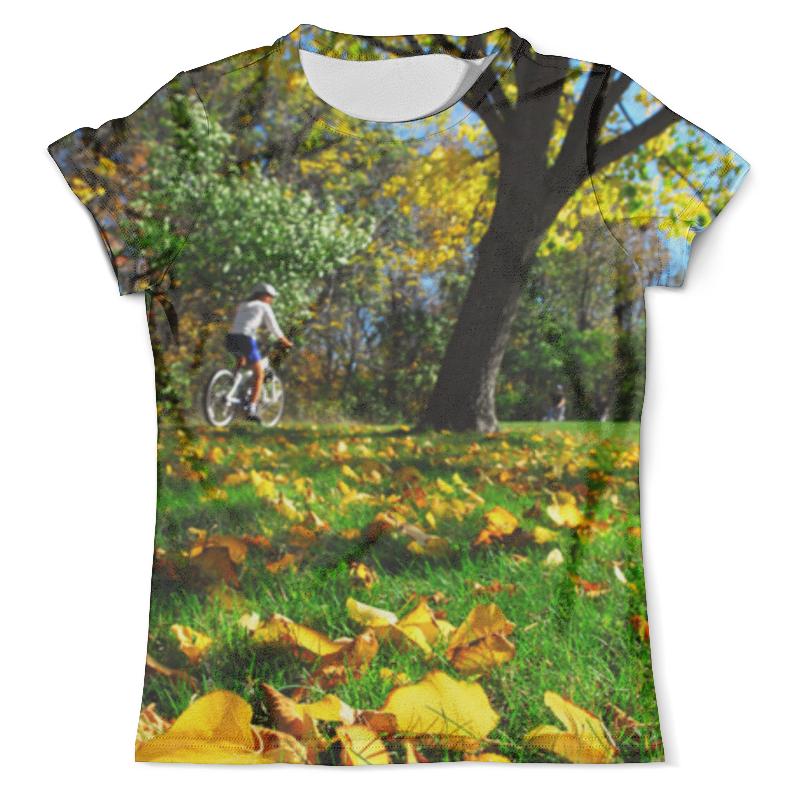 Футболка с полной запечаткой (мужская) Printio Летняя поездка на велосипеде футболка с полной запечаткой мужская printio летняя