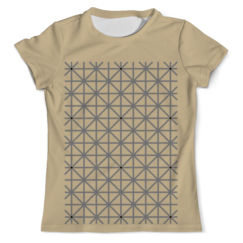 Футболка с полной запечаткой (мужская) Printio Оптическая иллюзия футболка с полной запечаткой мужская printio иллюзия