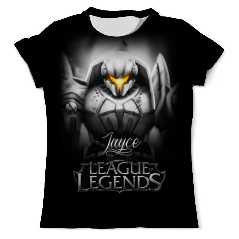 Футболка с полной запечаткой (мужская) Printio League of legends. джейс футболка с полной запечаткой мужская printio league of legends шивана