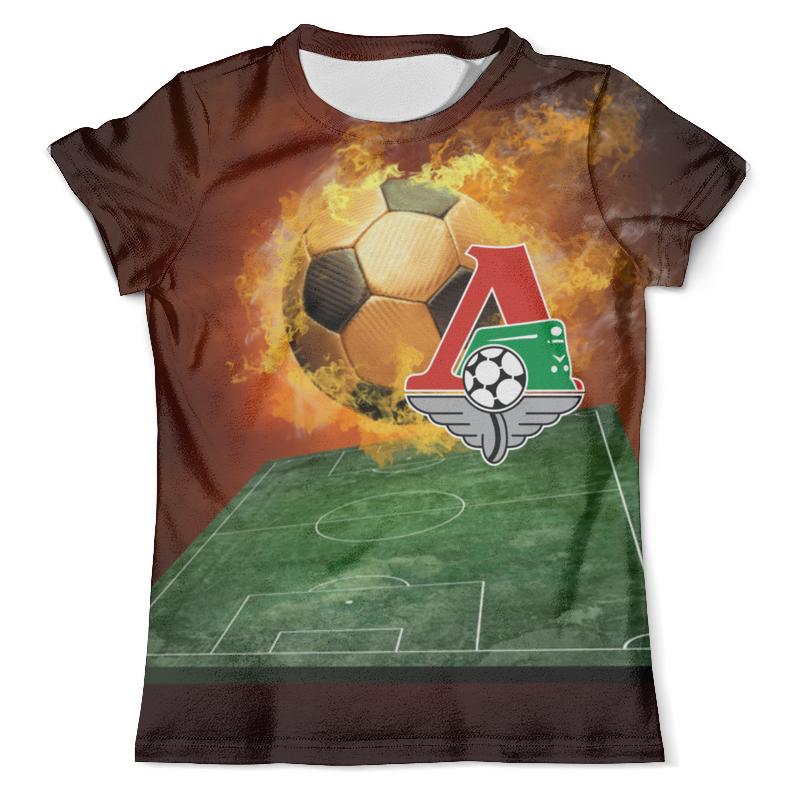 Футболка с полной запечаткой (мужская) Printio Фк локомотив футболка локомотив