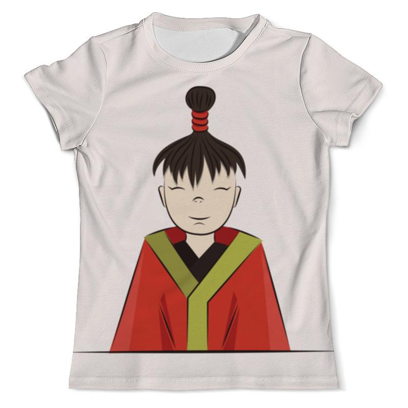 Футболка с полной запечаткой (мужская) Printio Японский мальчик футболка с полной запечаткой мужская printio мальчик с девочкой