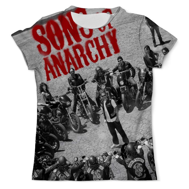 Футболка с полной запечаткой (мужская) Printio Сыны анархии / sons of anarchy фартук с полной запечаткой printio сыны анархии