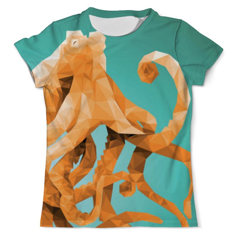 Футболка с полной запечаткой (мужская) Printio Octopus футболка с полной запечаткой мужская printio осьминог