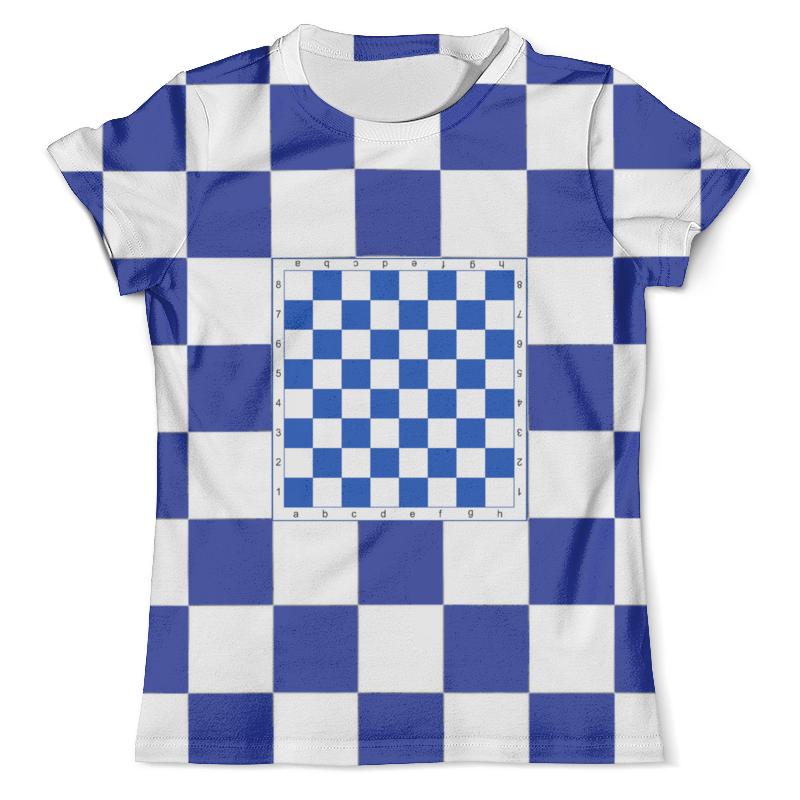Футболка с полной запечаткой (мужская) Printio Шахматы дорожные шахматы