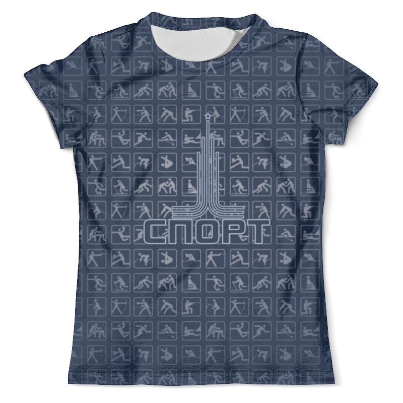 Футболка с полной запечаткой (мужская) Printio Спорт мужская одежда для спорта