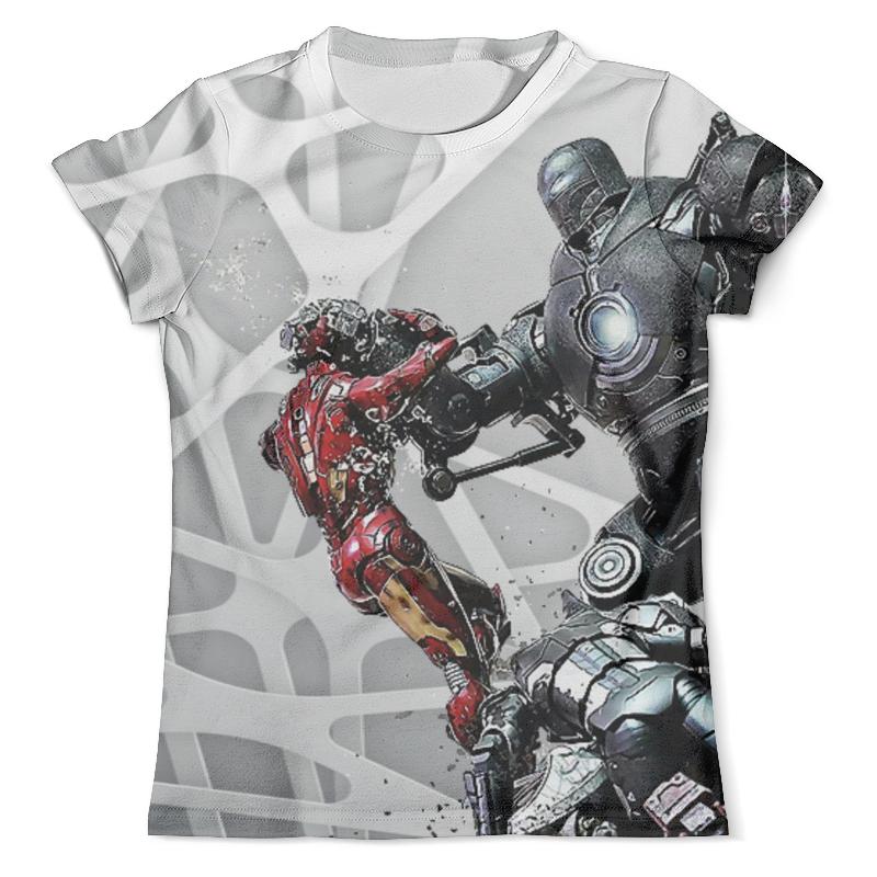 Фото Футболка с полной запечаткой (мужская) Printio Iron man design