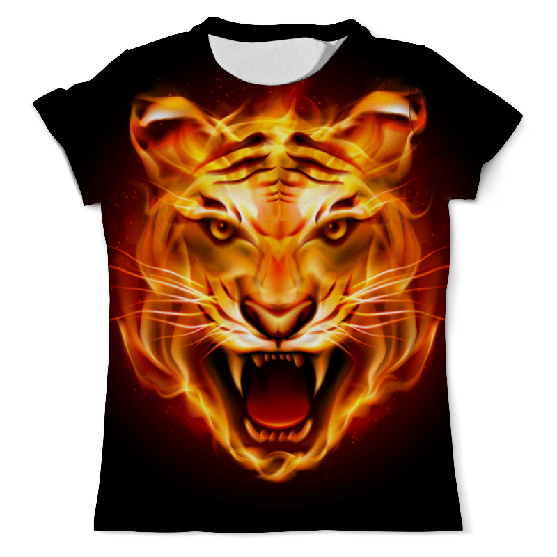 Футболка с полной запечаткой (мужская) Printio Тигр футболка с полной запечаткой мужская printio амурский тигр