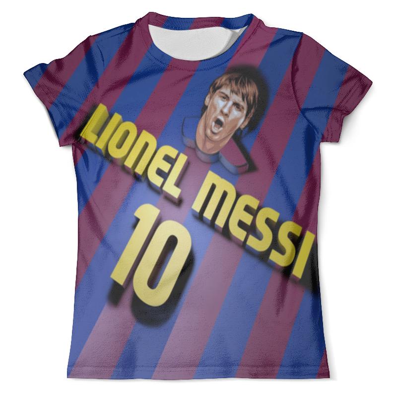 Футболка с полной запечаткой (мужская) Printio Lionel messi фигурка argentina lionel messi