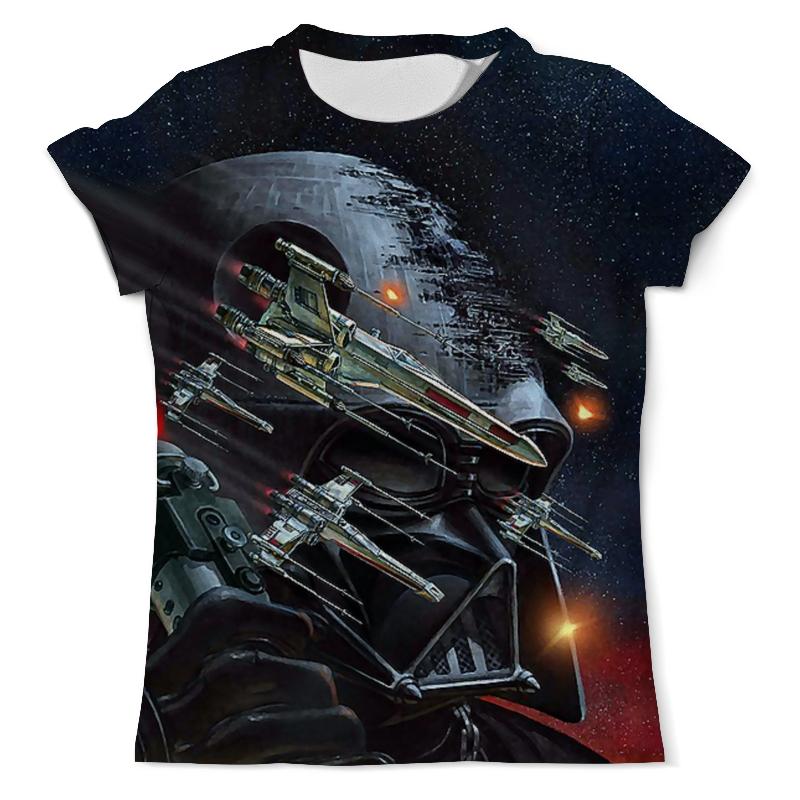 Футболка с полной запечаткой (мужская) Printio Darth vader (star wars) футболка с полной запечаткой мужская printio darth vaider
