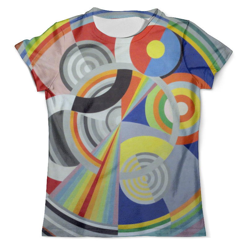 Футболка с полной запечаткой (мужская) Printio Ритм № 1 (робер делоне) футболка с полной запечаткой мужская printio обнажённая с книгой робер делоне