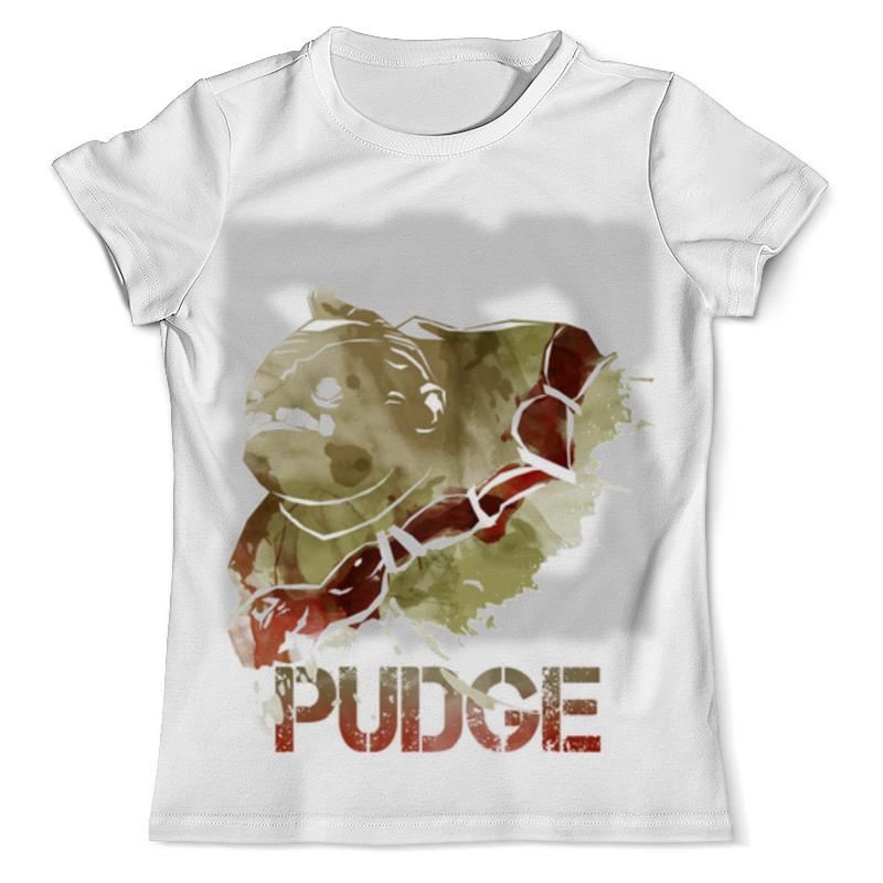 Футболка с полной запечаткой (мужская) Printio Pudge dota 2 футболка с полной запечаткой мужская printio герои dota 2