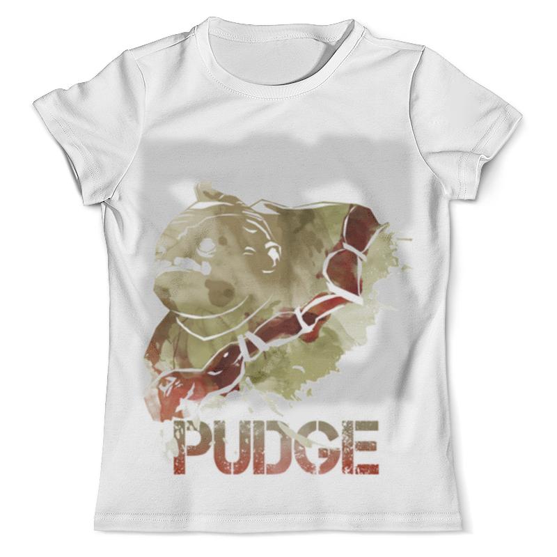 Футболка с полной запечаткой (мужская) Printio Pudge dota 2 футболка с полной запечаткой мужская printio faceless void dota 2