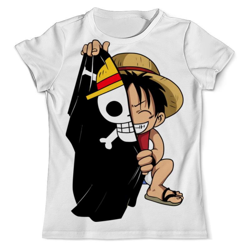 Printio Луффи футболка с полной запечаткой мужская printio one pice ван пис луффи