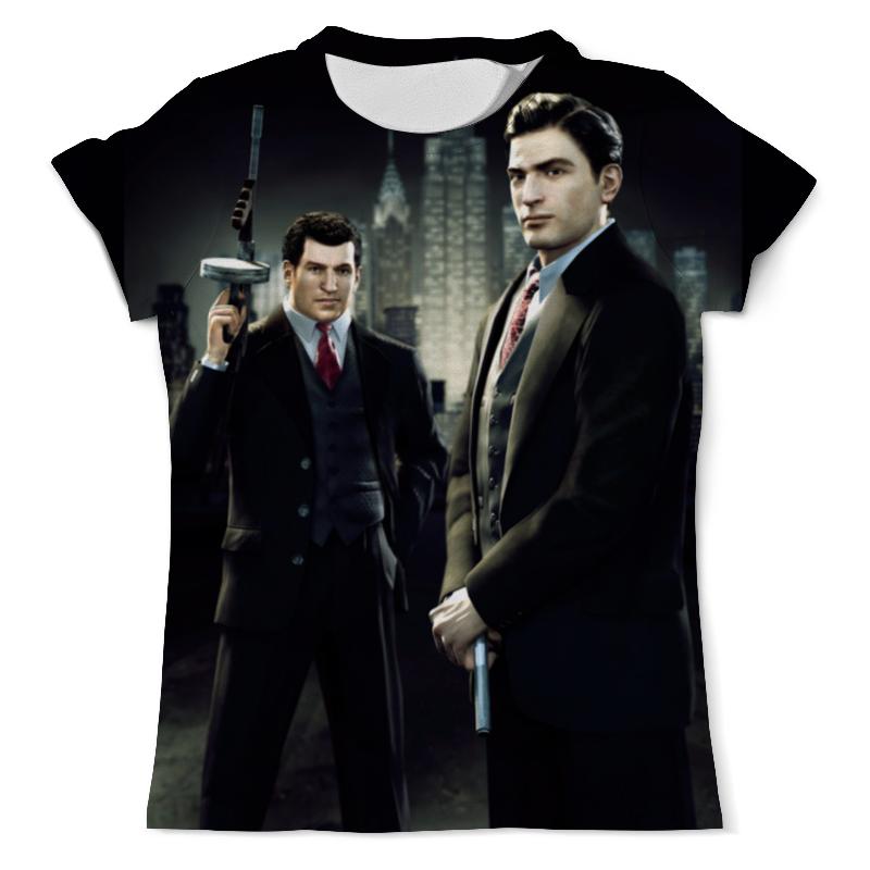 Футболка с полной запечаткой (мужская) Printio Mafia футболка с полной запечаткой printio знакомьтесь джо блэк