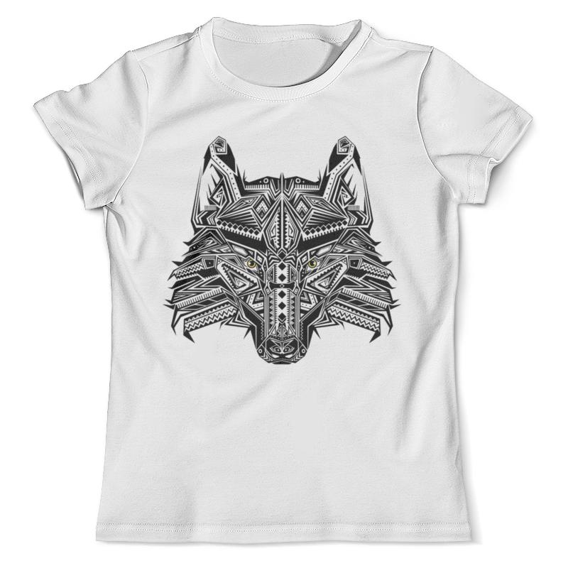 Футболка с полной запечаткой (мужская) Printio Этнический волк кружка printio этнический волк