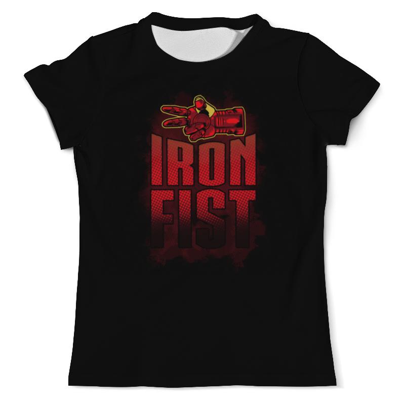 Футболка с полной запечаткой (мужская) Printio Iron fist футболка с полной запечаткой мужская printio iron maiden