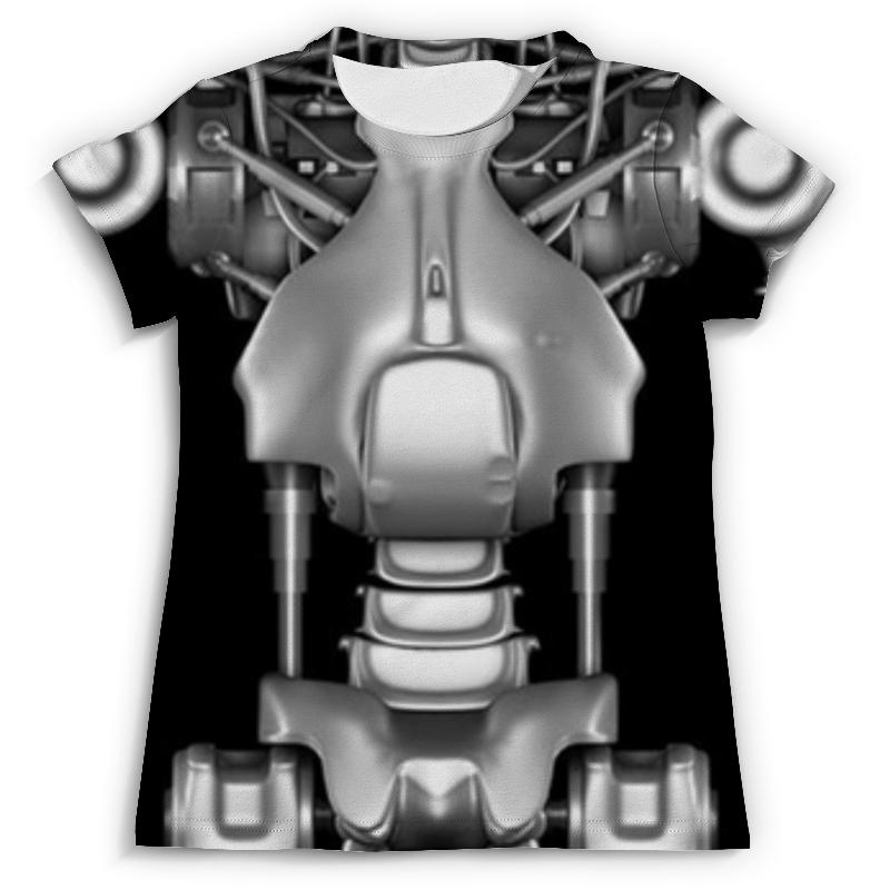 Футболка с полной запечаткой (мужская) Printio Terminator t800 футболка с полной запечаткой для девочек printio terminator t800