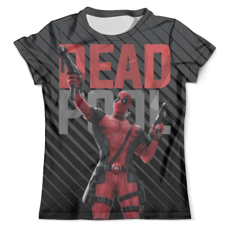 Фото - Футболка с полной запечаткой (мужская) Printio Deadpool design чехол для iphone 5 глянцевый с полной запечаткой printio deadpool vs punisher
