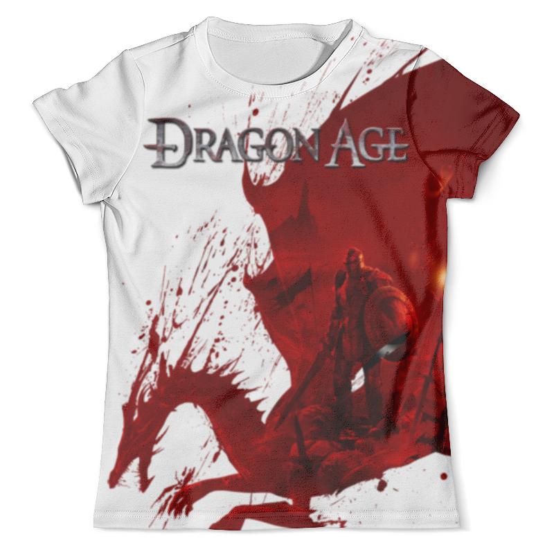 Футболка с полной запечаткой (мужская) Printio Dragon age рюкзак с полной запечаткой printio dragon age