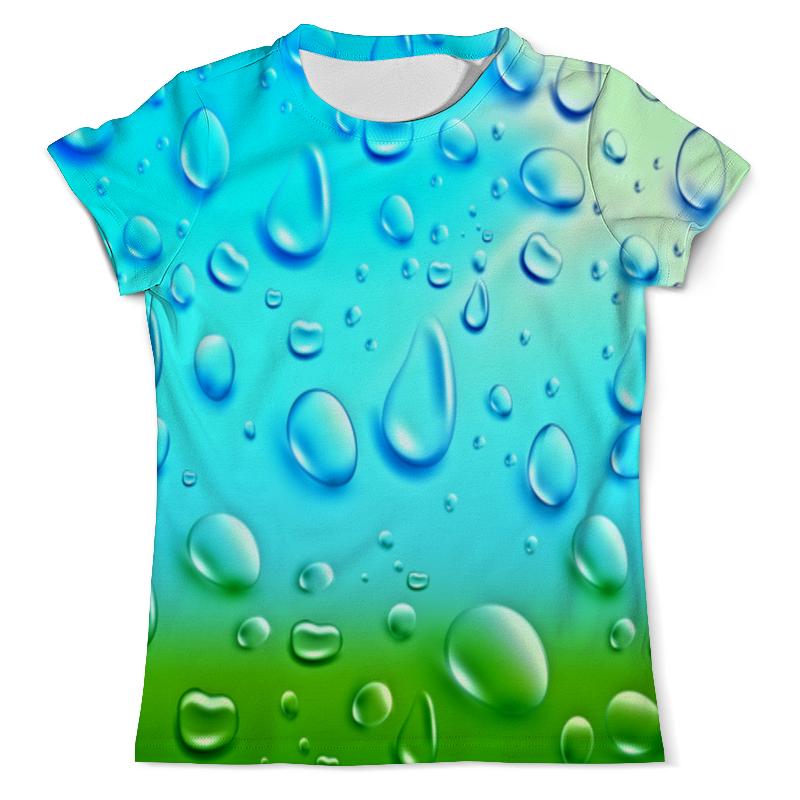 Футболка с полной запечаткой (мужская) Printio Капли на стекле футболка с полной запечаткой мужская printio капли дождя