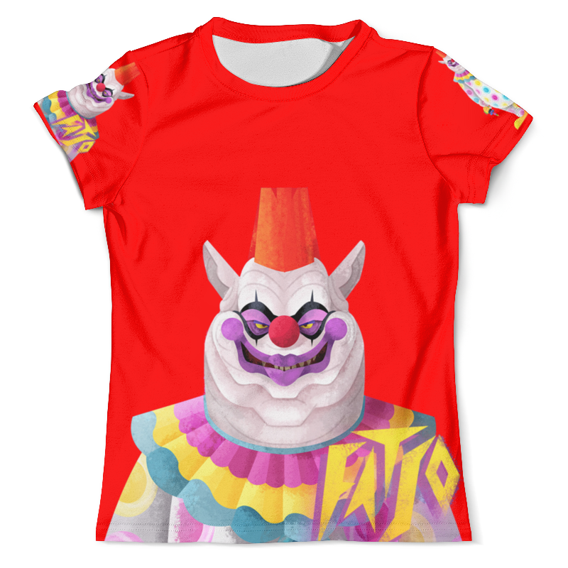 Printio Killer klowns from outer space - fatso цена