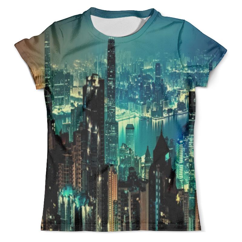Футболка с полной запечаткой (мужская) Printio New york футболка с полной запечаткой для мальчиков printio new york