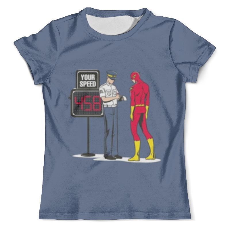 Футболка с полной запечаткой (мужская) Printio Flash футболка с полной запечаткой мужская printio flash v grodd