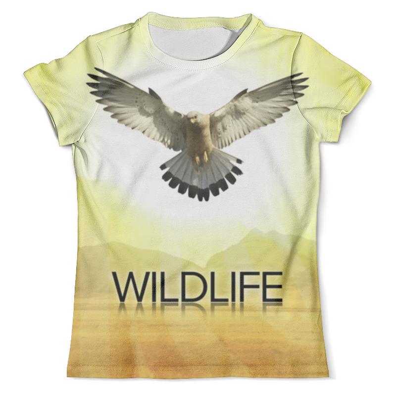 Футболка с полной запечаткой (мужская) Printio Дикая природа . орел футболка с полной запечаткой мужская printio орел арт 1