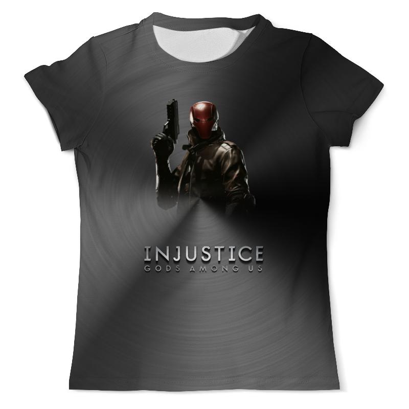 Футболка с полной запечаткой (мужская) Printio Injustice tom taylor injustice gods among us volume 1