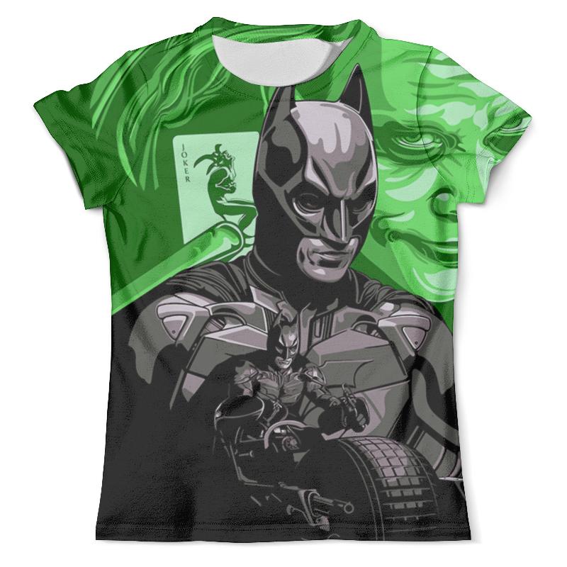 Футболка с полной запечаткой (мужская) Printio The joker&batman футболка с полной запечаткой мужская printio batman x joker