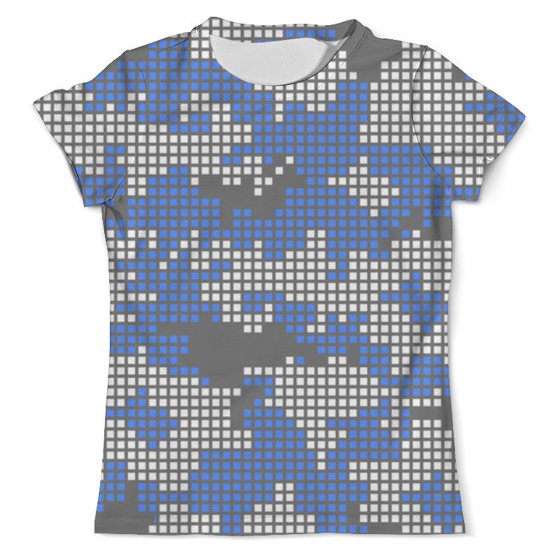 Printio Пиксельный камуфляж футболка с полной запечаткой мужская printio пиксельный разрыв я в порядке