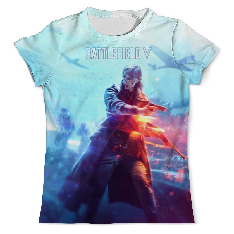 Футболка с полной запечаткой (мужская) Printio Battlefield v футболка с полной запечаткой для девочек printio battlefield 1