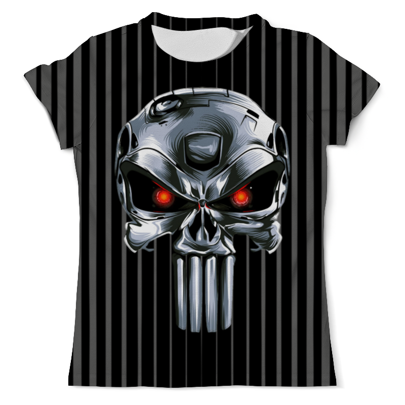 Printio Punisher of the future (terminator) design детская футболка классическая унисекс printio punisher of the future
