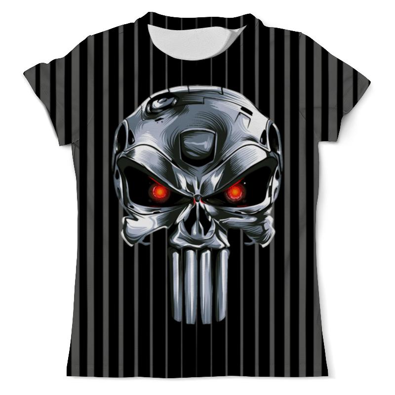 Printio Punisher of the future (terminator) design футболка с полной запечаткой мужская printio punisher of the future terminator