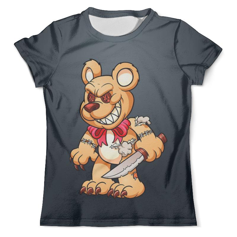 Printio Фредди мишка футболка с полной запечаткой мужская printio фредди меркури