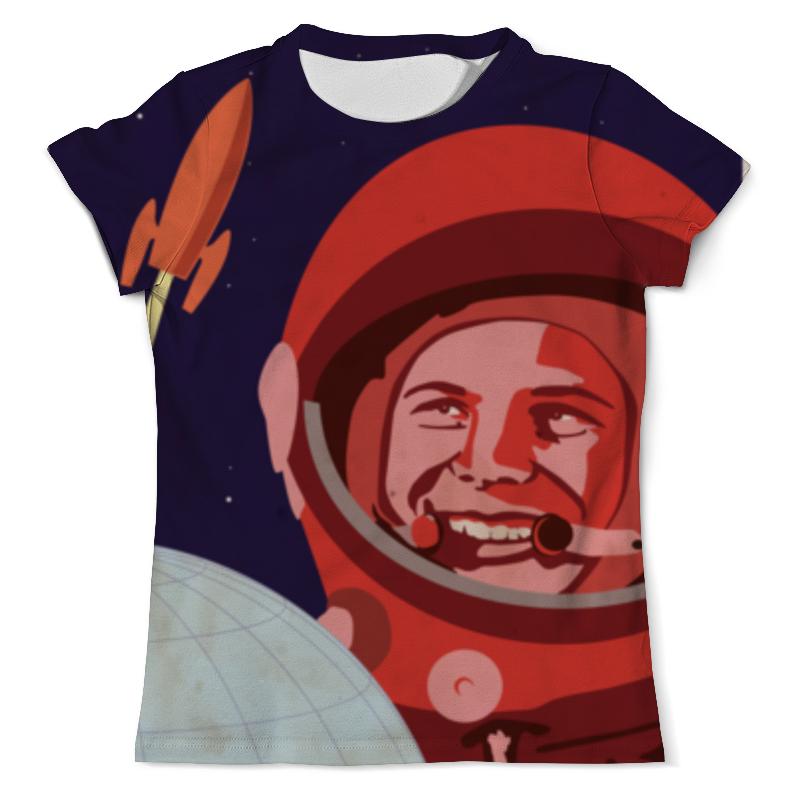 Футболка с полной запечаткой (мужская) Printio Гагарин футболка с полной запечаткой мужская printio юрий гагарин