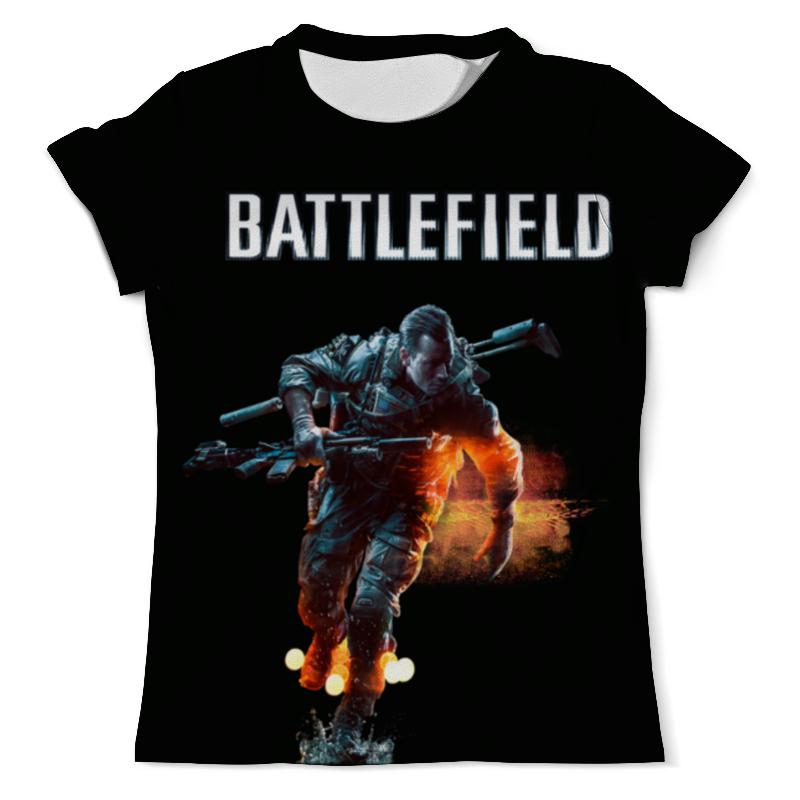 Футболка с полной запечаткой (мужская) Printio Battlefield футболка с полной запечаткой мужская printio battlefield 4