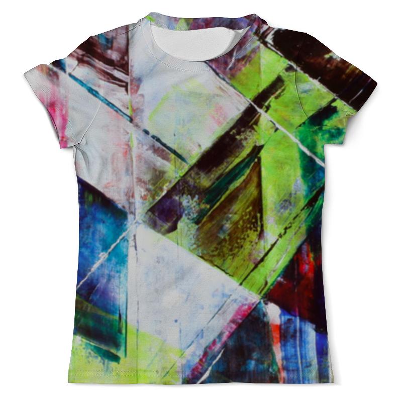 Футболка с полной запечаткой (мужская) Printio Акварельная геометрия футболка с полной запечаткой для мальчиков printio акварельная геометрия