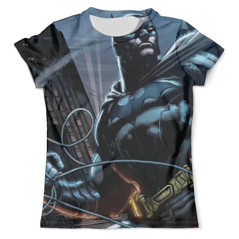 Футболка с полной запечаткой (мужская) Printio Batman print худи print bar breaking batman