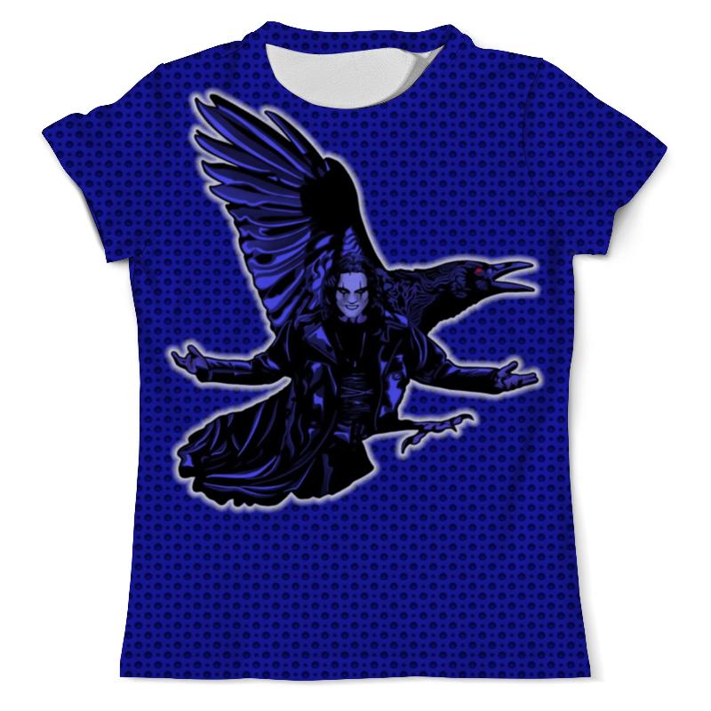 Футболка с полной запечаткой (мужская) Printio The crow футболка foundation f ink crow turquoise